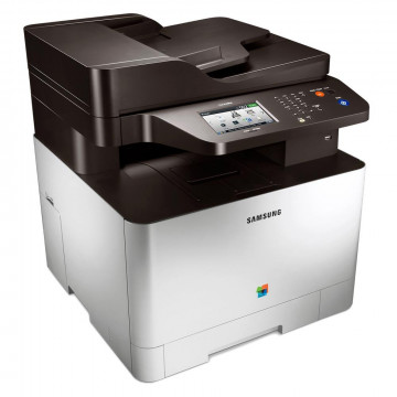 Multifunctional Laser Color Samsung CLX 4195FW, Copiator, Scaner, Fax, 19 ppm, USB, Retea, Wi-Fi, Second Hand Imprimante Second Hand