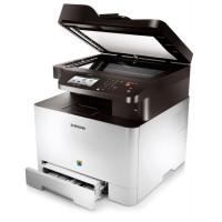 Multifunctional Laser Color Samsung CLX 4195FW, Copiator, Scaner, Fax, 19 ppm, USB, Retea, Wi-Fi