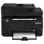 Multifunctionala Laser Monocrom HP LaserJet Pro MFP M127fn, A4, 21ppm, 600 x 600, Fax, Copiator, Scanner, Retea, USB, Toner Low, Second Hand Imprimante Second Hand