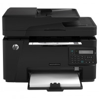Multifunctionala Laser Monocrom HP LaserJet Pro MFP M127fw, A4, 21ppm, 600 x 600, Fax, Copiator, Scanner, Wireless, USB, Toner Nou