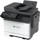 Multifunctionala Laser Monocrom LEXMARK MX522ade, A4, 35ppm, 1200 x 1200, Fax, Scanner, Copiator, USB, Retea, Second Hand Imprimante Second Hand