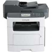 Multifunctionala Laser Monocrom Lexmark MX510de, A4, 45 ppm, 1200 x 1200 dpi, Copiator, Scanner, USB, Retea, Second Hand Imprimante Second Hand