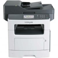 Multifunctionala Laser Monocrom Lexmark MX510de, Duplex, A4, 45 ppm, 1200 x 1200 dpi, Copiator, Scanner, USB, Retea