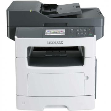 Multifunctionala Laser Monocrom Lexmark MX510de, Duplex, A4, 45 ppm, 1200 x 1200 dpi, Copiator, Scanner, USB, Retea, Second Hand Imprimante Second Hand