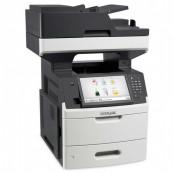 Multifunctionala Laser Monocrom LEXMARK MX711de, Duplex, A4, 66ppm, 1200 x 1200, Fax, Scanner, Copiator, USB, Retea, Second Hand Imprimante Second Hand