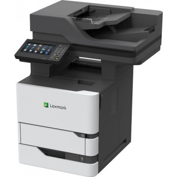 Multifunctionala Laser Monocrom LEXMARK MX722ade, A4, 70ppm, 1200 x 1200, Fax, Scanner, Copiator, USB, Retea, Second Hand Imprimante Second Hand