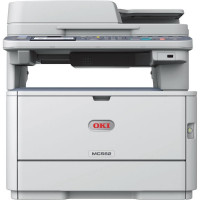 Multifunctionala Laser Color OKI MC562dnw, Duplex, A4, 30ppm, 600 x 600 dpi, Fax Copiator, Scaner, USB, Retea, Wireless