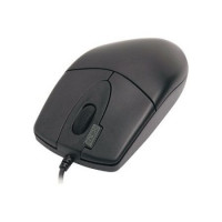 Mouse Optic cu fir A4TECH, 1000dpi, 4/1 Butoane/Rotite, OP-620D-U1, USB, Negru