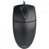 Mouse Optic cu fir A4TECH, 1000dpi, 4/1 Butoane/Rotite, OP-620D-U1, USB, Negru Periferice
