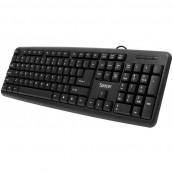 Tastatura Spacer SPKB-S62, 104 taste, Anti-Spill, Negru Periferice