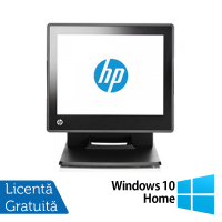 Sistem POS HP RP7 7800, Procesor Intel G540 2.50GHz, 2GB DDR3, 320GB SATA + Windows 10 Home