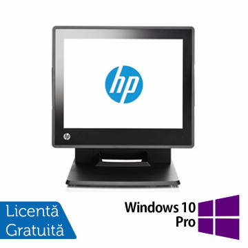 Sistem POS HP RP7 7800, Procesor Intel G540 2.50GHz, 2GB DDR3, 320GB SATA + Windows 10 Pro, Refurbished Echipamente POS