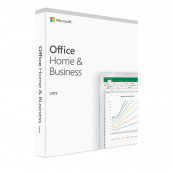 Licenta retail Microsoft Office 2019 Home and Business 32-bit/x64 English Software