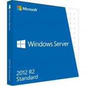 Windows Server Standard 2012 R2, 64bit, DVD, English, OEM Software