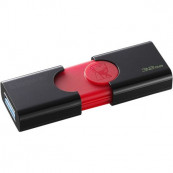 Memorie USB Kingston DataTraveler 106, 32GB, USB 3.1, Negru DT106/32GB Periferice