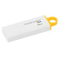Stick Memorie USB Flash 8GB Data Traveler I G4, Galben, USB 3.0