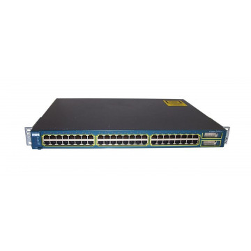 Switch Cisco Catalyst 2950G-48, 48 porturi 10/100 + 2 x GBIC - managed, Second Hand Retelistica