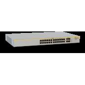Switch Allied Telesis AT-8000GS/24 POE, 24 porturi Gigabit, Second Hand Retelistica