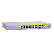 Switch Allied Telesis AT-8000S/24POE Layer 2 Stackable Fast Ethernet Switch, Second Hand Retelistica