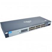 Switch HP ProCurve 1800-24G J9028B, Managed, 24 porturi 10/100/1000, Second Hand Retelistica