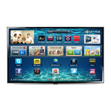 Televizor 3D LED Slim Smart Samsung UE46ES6300U, 116cm Full HD, Smart Hub, HDMI, USB, Retea, Wireless, Fara picior, Second Hand Televizoare 46 Inch