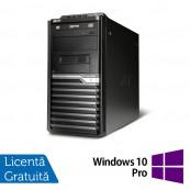 Calculatoare Acer Veriton M430G, AMD Athlon II X2 260 3.2 GHz, 4Gb DDR2, 250GB SATA, DVD-RW + Windows 10 Pro Calculatoare Refurbished