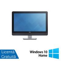 All In One DELL 9010, 23 Inch Full HD, Intel Core i5-3570S 3.10GHz, 4GB DDR3, 120GB SSD, DVD-RW + Windows 10 Home