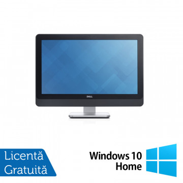 All In One DELL 9020, 23 Inch Full HD, Intel Core i5-4670S 3.10GHz, 4GB DDR3, 120GB SSD, DVD-RW + Windows 10 Home, Refurbished All In One