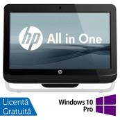 All In One HP Pro 3420, 20 Inch, Intel Core i3-2120 3.30GHz, 4GB DDR3, 500GB SATA, DVD-RW + Windows 10 Pro, Refurbished All In One