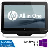 All In One HP Pro 3420, 20 Inch, Intel Core i3-2120 3.30GHz, 4GB DDR3, 500GB SATA, DVD-RW + Windows 10 Pro, Refurbished All In One
