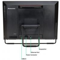 All In One LENOVO M72z 20 Inch 1600 x 900, Intel Pentium G2020 2.90GHz, 4GB DDR3, 250GB SATA, Grad A-