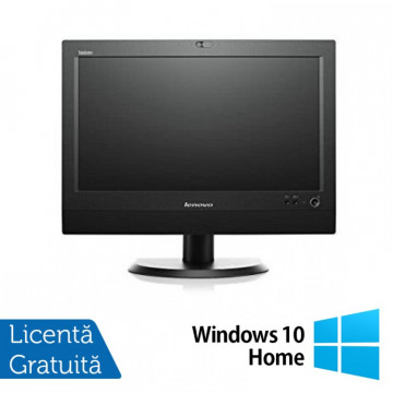 All In One LENOVO M93z 23 Inch Full HD IPS LED, Intel Core i5-4570T 2.90GHz, 4GB DDR3, 120GB SSD, DVD-RW + Windows 10 Home, Refurbished All In One