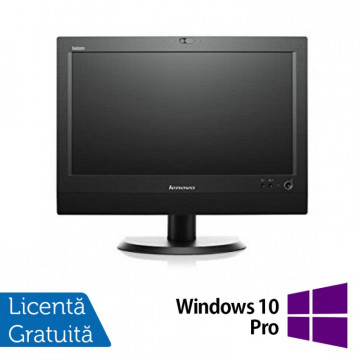 All In One LENOVO M93z 23 Inch Full HD IPS LED, Intel Core i5-4570T 2.90GHz, 8GB DDR3, 240GB SSD, DVD-RW + Windows 10 Pro, Refurbished All In One