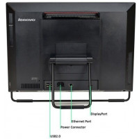 All In One LENOVO M93z 23 Inch Full HD IPS LED, Intel Core i5-4590S 3.00GHz, 4GB DDR3, 120GB SSD, DVD-ROM