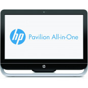 Calculator All In One HP Pavilion 20-b110ed, 20 Inch 1600 x 900, AMD E1-1200 1.40GHz, 4GB DDR3, 500GB SATA, DVD-ROM, Webcam, Second Hand All In One