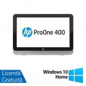 All In One HP Pro One 400 G1, 19.5 Inch 1600 x 900, Intel Core i3-4130T 2.90GHz, 4GB DDR3, 120GB SSD, DVD-RW + Windows 10 Home, Refurbished All In One