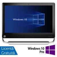 All In One HP TouchSmart Elite 7320, 21.5 Inch Full HD LED, Intel Core i3-2120 3.30GHz, 4GB DDR3, 500GB SATA, DVD-ROM, Webcam, Fara picior + Windows 10 Pro