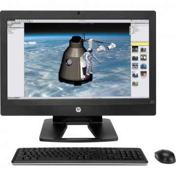 Calculator All In One HP Z1 G2 Workstation, 27 Inch IPS LED 2560 x 1440, Intel Xeon E3-1226 V3 3.30GHz, 8GB DDR3, 256GB SSD, DVD-ROM, Webcam, Grad A-, Second Hand All In One