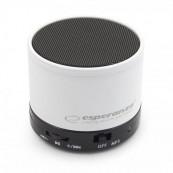 Boxa portabila Bluetooth Esperanza Ritmo EP115 White Periferice
