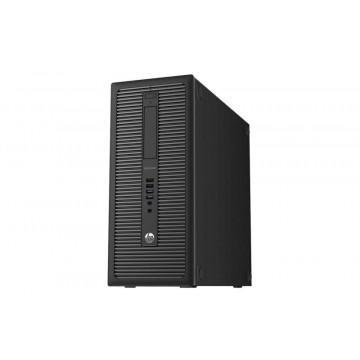 Calculator HP Prodesk 600 G1 Tower, Intel Core i3-4130 3.40GHz, 4GB DDR3, 500GB SATA, DVD-RW, Second Hand Calculatoare Second Hand