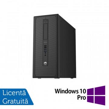 Calculator HP Prodesk 600 G1 Tower, Intel Core i3-4130 3.40GHz, 4GB DDR3, 500GB SATA, DVD-RW + Windows 10 Pro, Refurbished Calculatoare Refurbished