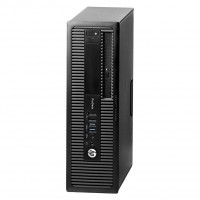 Calculator HP Prodesk 600G1, SFF, Intel Core i7-4770 3.40GHz, 8GB DDR3, 240GB SSD, DVD-RW + Windows 10 Home