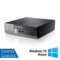 Calculator Dell Optiplex 7010 USFF, Intel Core i5-3570S 3.10GHz, 8GB DDR3, 320GB SATA, DVD-RW + Windows 10 Home