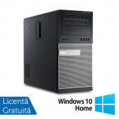 Calculator Dell 9010 MT, Intel Core i5-3470 3.20GHz, 8GB DDR3, 500GB SATA + Windows 10 Home, Refurbished Calculatoare Refurbished