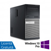 Calculator Dell 9010 MT, Intel Core i5-3470 3.20GHz, 8GB DDR3, 500GB SATA + Windows 10 Pro, Refurbished Calculatoare Refurbished