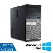 Calculator Dell 9010 MT, Intel Core i5-3470 3.20GHz, 8GB DDR3, 500GB SATA + Windows 10 Home, Refurbished Calculatoare Refurbished