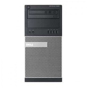 Calculator DELL Optiplex 9020 Tower, Intel Core i3-4130 3.40GHz, 4GB DDR3, 250GB SATA, DVD-ROM, Second Hand Calculatoare Second Hand
