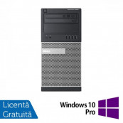 Calculator DELL Optiplex 9020 Tower, Intel Core i7-4770 3.40GHz, 8GB DDR3, 500GB SATA, DVD-ROM + Windows 10 Pro, Refurbished Calculatoare Refurbished
