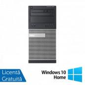 Calculator DELL Optiplex 9020 Tower, Intel Core i7-4790 3.60GHz, 4GB DDR3, 500GB SATA, DVD-ROM + Windows 10 Home, Refurbished Calculatoare Refurbished