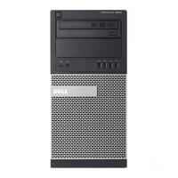 Calculator DELL Optiplex 9020 Tower, Intel Pentium G3220 3.00GHz, 4GB DDR3, 250GB SATA, DVD-ROM